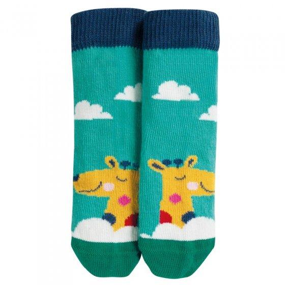 Frugi Giraffe Perfect Little Pair Socks