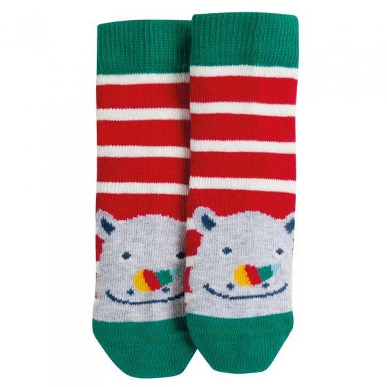 Frugi Rhino Perfect Little Pair Socks