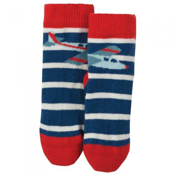 Frugi Plane Little Perfect Pair Socks