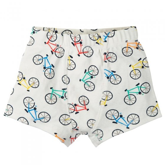 Frugi Rainbow Rides Sean Printer Boxer Shorts