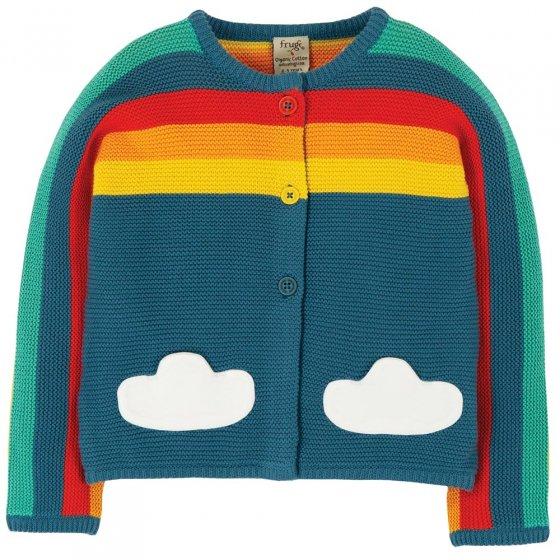 Frugi Rainbow Skylar Cardigan