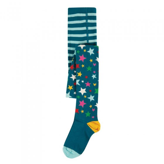 Frugi Rainbow Stars Norah Tights