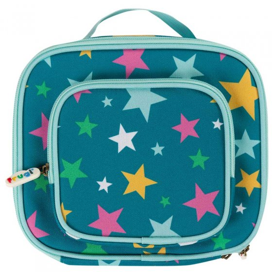 Frugi Rainbow Stars Pack A Snack Lunch Bag
