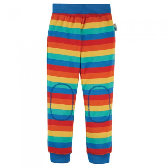 Frugi Rainbow Stripe Favourite Cuffed Leggings