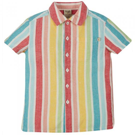 Frugi Rainbow Stripe Jamaal Shirt