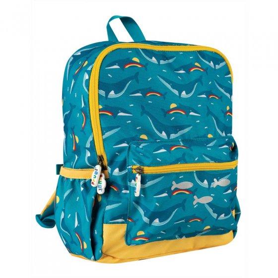 Frugi Rainbow Whales Adventurers Backpack