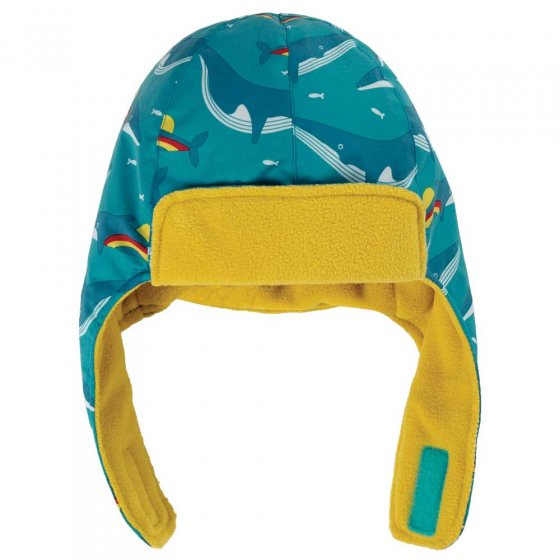 Frugi Rainbow Whales Explorer Hat