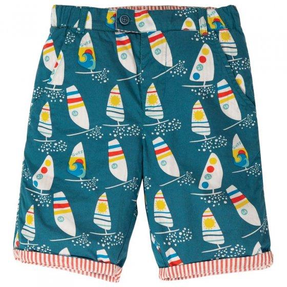 Frugi Ride The Waves Reuben Reversible Shorts