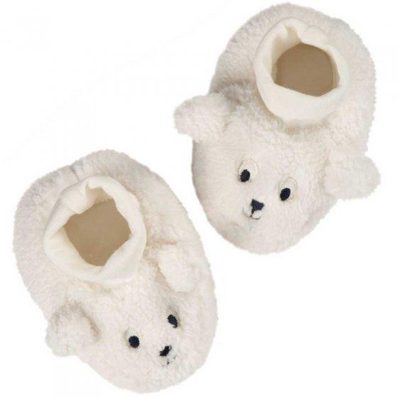 Frugi Sheep Cosy Booties