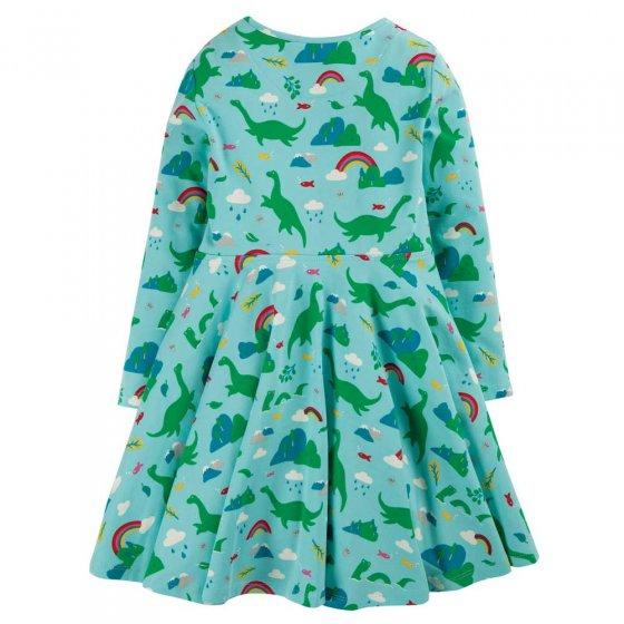 Frugi Shore Blue Nessie Sofia Skater Dress