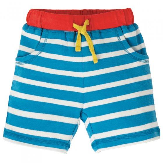 Frugi Slue Stripe Little Stripy Shorts