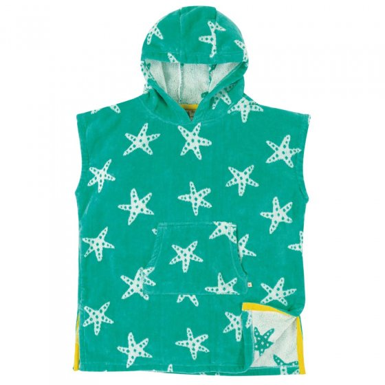 Frugi Starfish Sharks Hooded Towel
