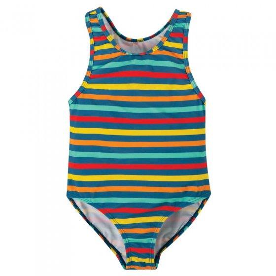 Frugi Swim Stripe Sally Swimsuit