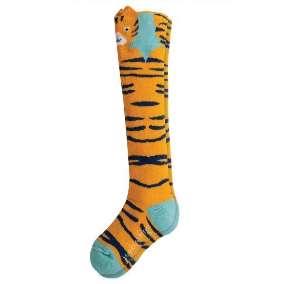 Frugi Tiger Safari Character Socks