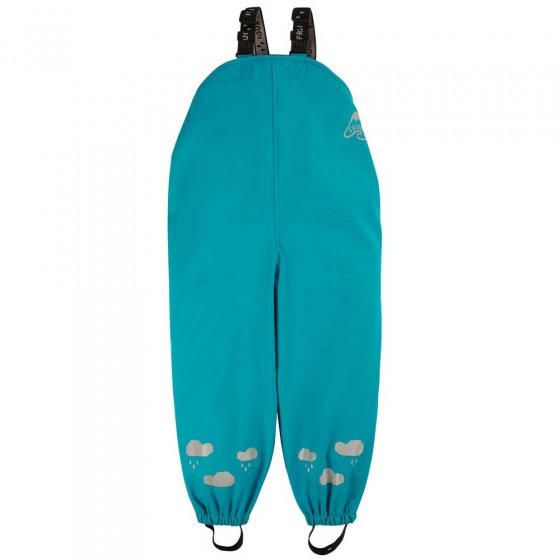 Frugi Tobermory Teal Puddle Buster Trousers