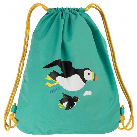 Frugi Tombermory Teal Puffin Swashbuckler Swim Bag