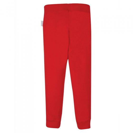 Frugi True Red Everyday Cuffed Leggings