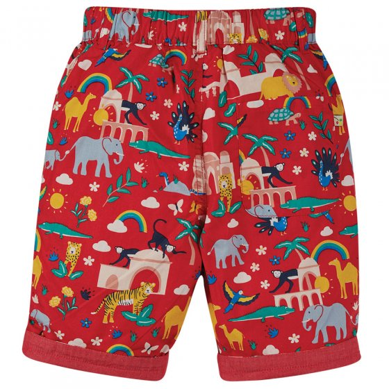 Frugi True Red India Ralph Reversible Shorts