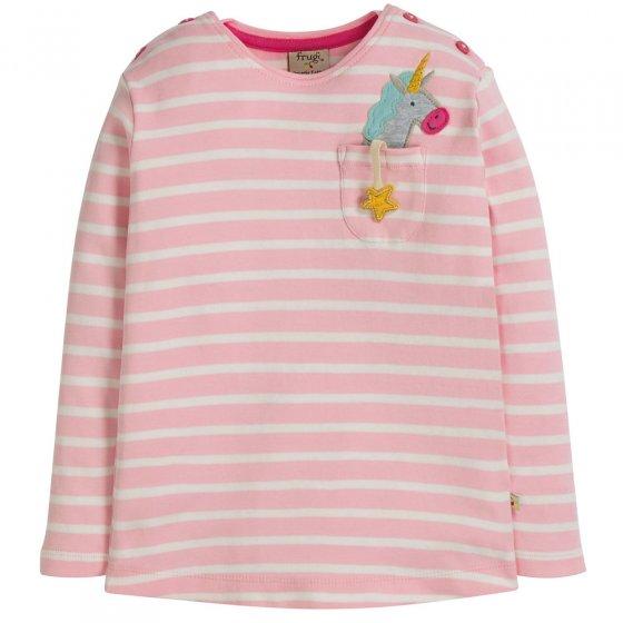 Frugi Unicorn Louise Pocket Top