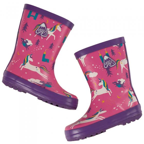 Frugi Unicorn Puddles Puddle Buster Welly Boots