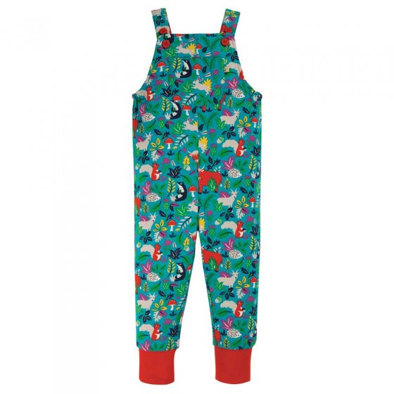 Frugi Woodland Critters Parsnip Dungarees