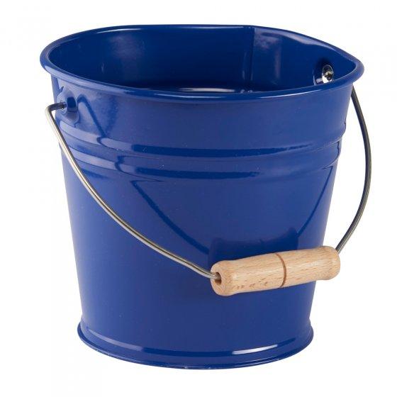 Glückskäfer Blue Metal Bucket