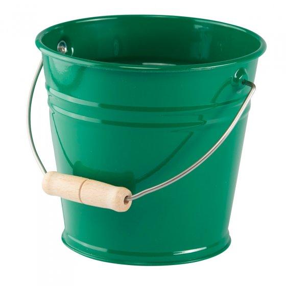 Glückskäfer Green Metal Bucket