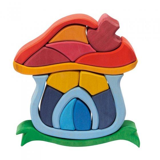Glückskäfer Mushroom House