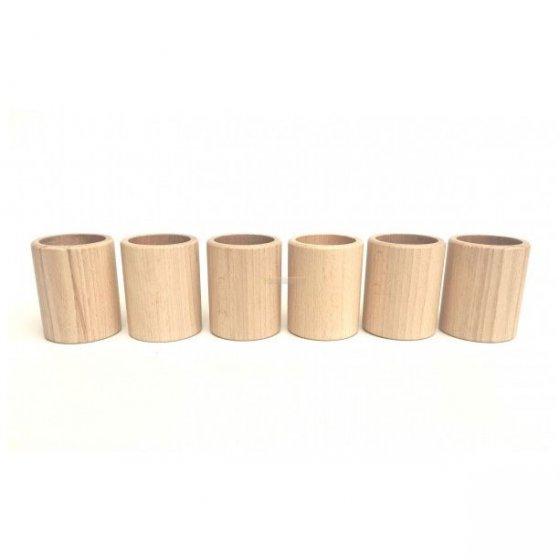 Grapat 6 Natural Cups