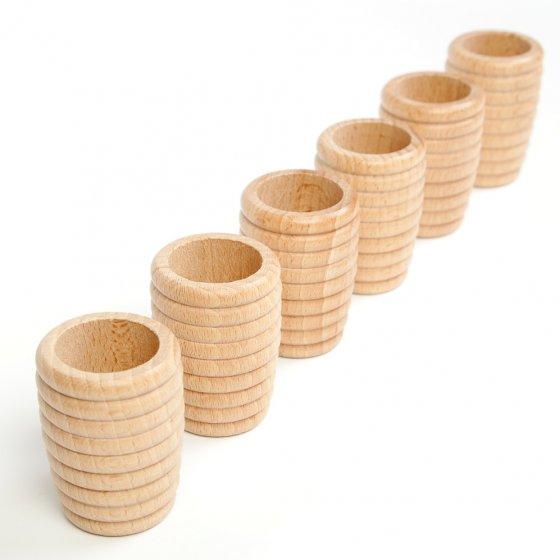 Grapat Extras 6 Natural Honeycomb Cups