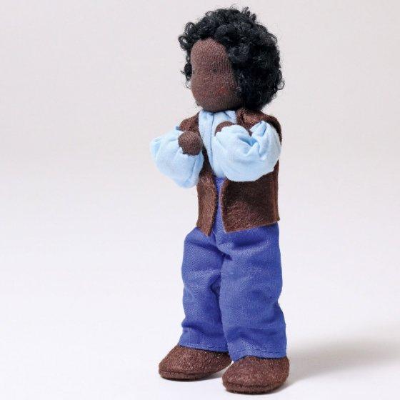Grimm's Handmade Doll - Mr Ebony