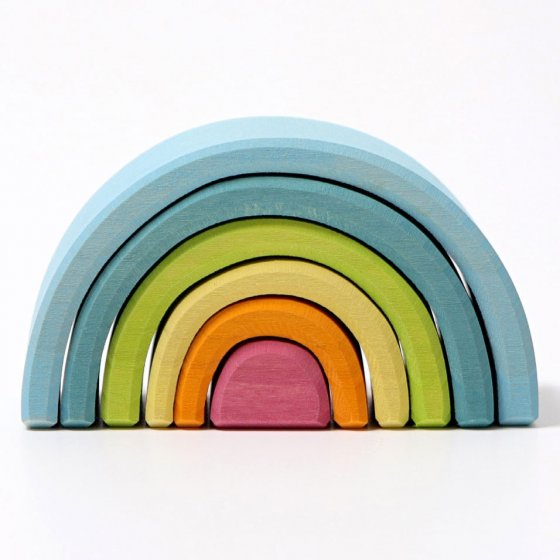 Grimm's Mini Pastel Rainbow (6 Pieces)