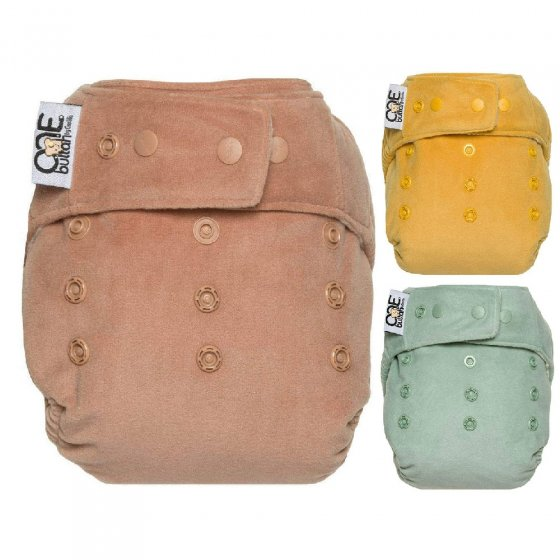GroVia Buttah O.N.E All-in-One Velour Nappy