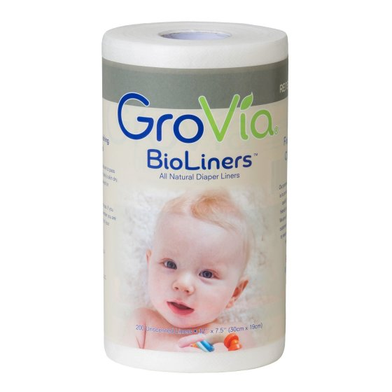 GroVia Nappy Liners Roll 200