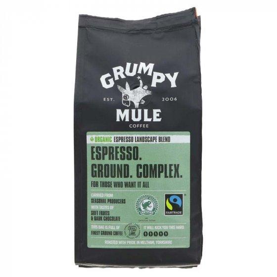 Grumpy Mule Espresso Landscape Blend Ground Coffee 227g