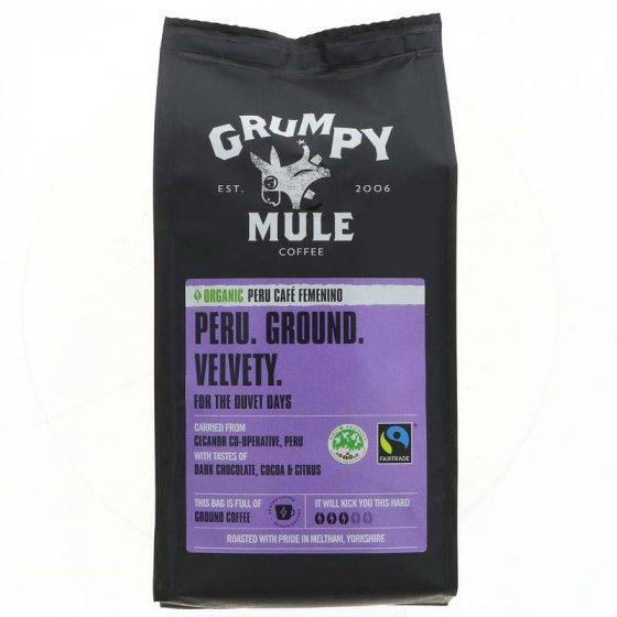 Grumpy Mule Peru Femenino Ground Coffee - 227g