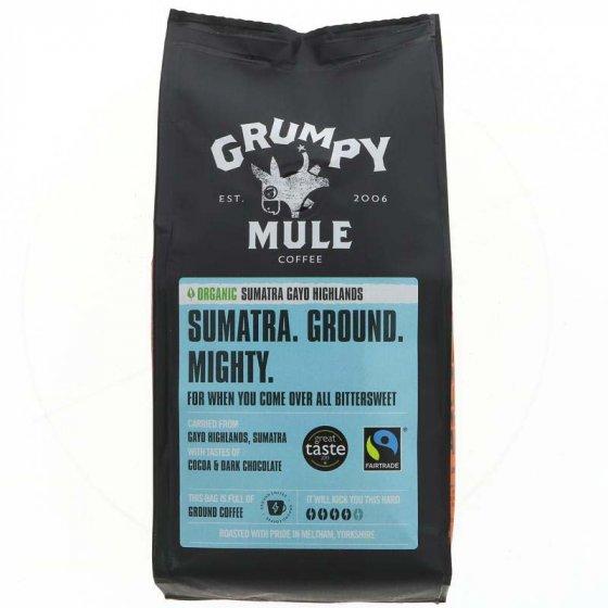 Grumpy Mule Sumatra Gayo Highlands Ground Coffee - 227g