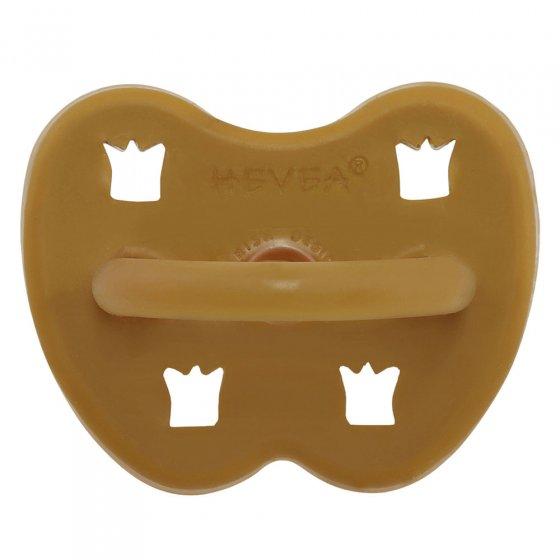 Hevea Turmeric Orthodontic Pacifier - 3 - 36 months
