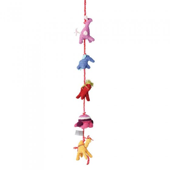 Hoppa Decoration Jingle Jungle Fuchsia