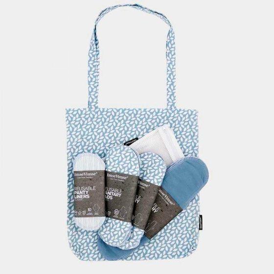 Imse Cloth Pad Starter Kit - ImseVimse Denim