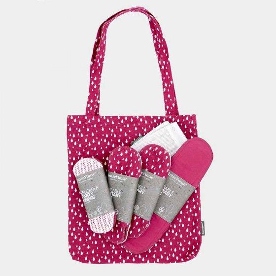 Imse Cloth Pad Starter Kit - ImseVimse Sangria