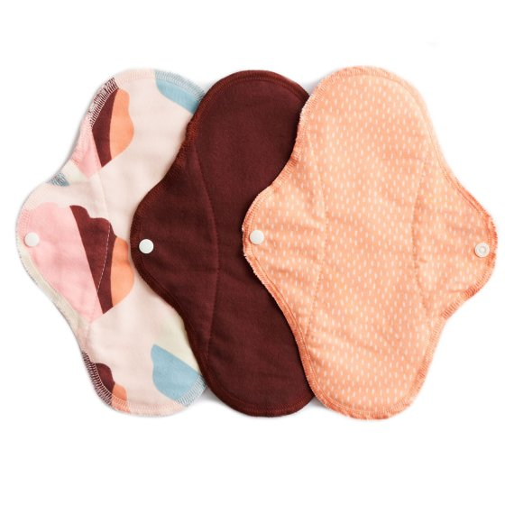 Imse Vimse Cotton Flannel Regular Pads 3 Pack