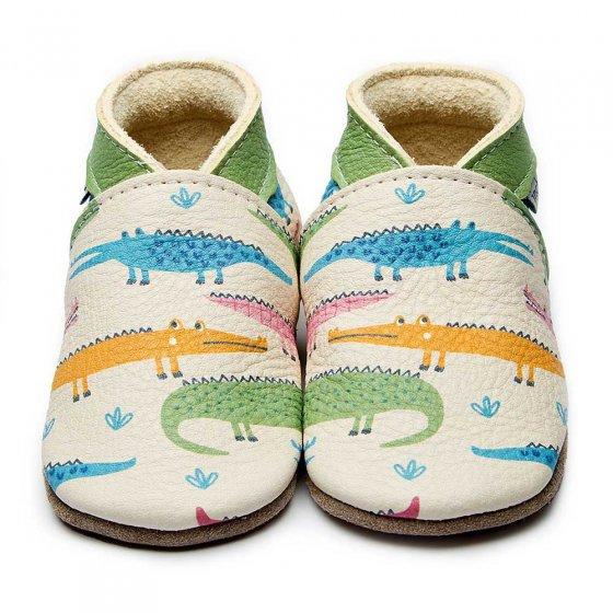 Inch Blue Alli Gator Shoes