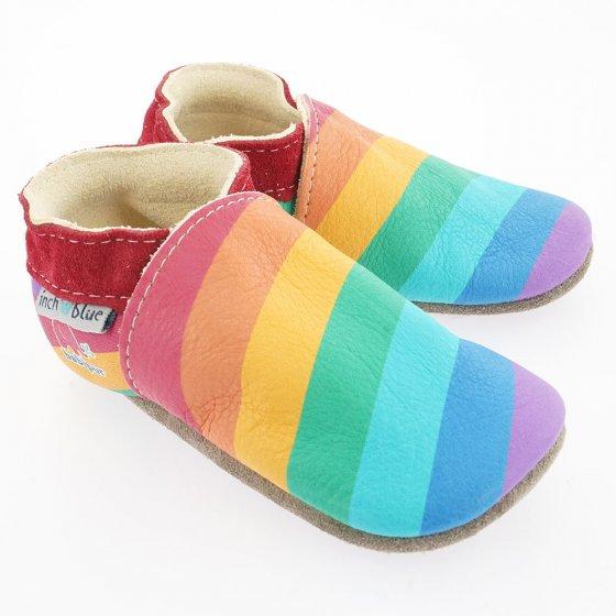 Inch Blue Rainbow Babi Pur collaboration shoes