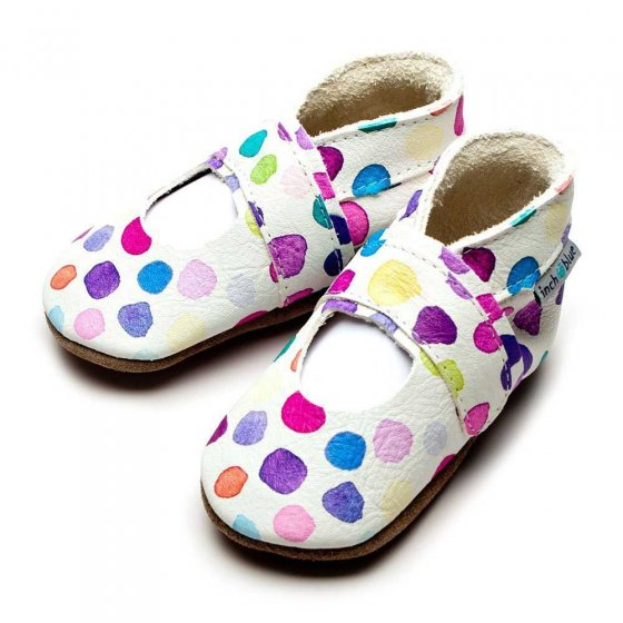 Inch Blue Mary Jane Dot Shoes