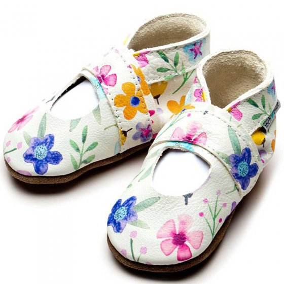 Inch Blue Mary Jane Posy Shoes