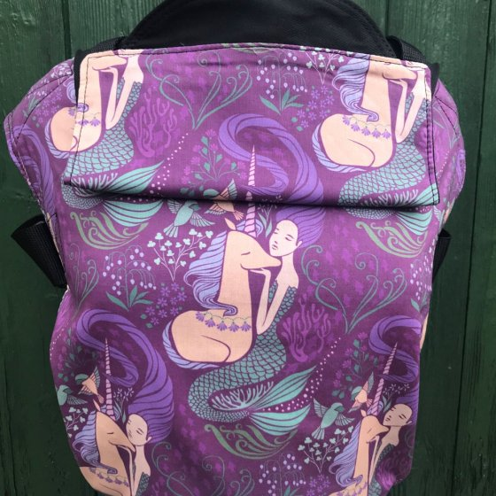 Integra Size 2 Mermaid and Unicorn Shorter Strap Baby Carrier