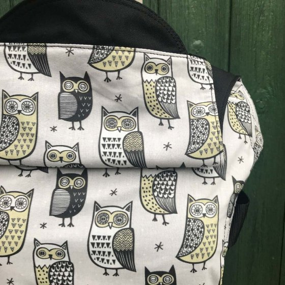 Integra Size 1 Owl Look After You Regular Strap Baby Carrier
