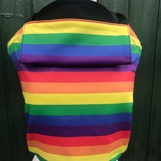 Integra Size 1 Rainbow Shorter Strap Baby Carrier
