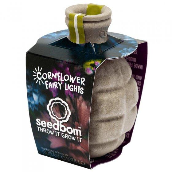 Kabloom Cornflower Fairy Lights Seedbom